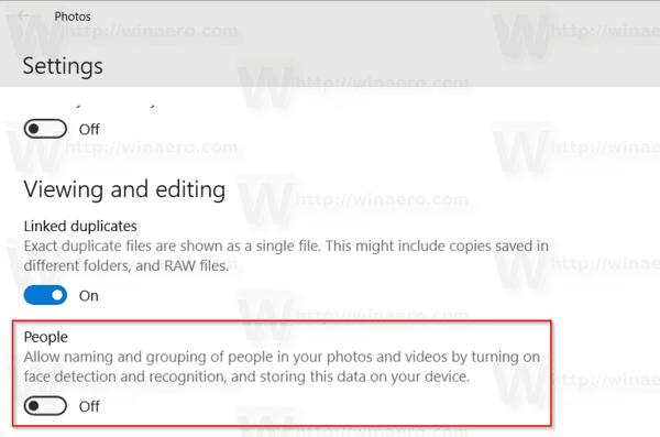 Windows 10 Disable Face Recognition
