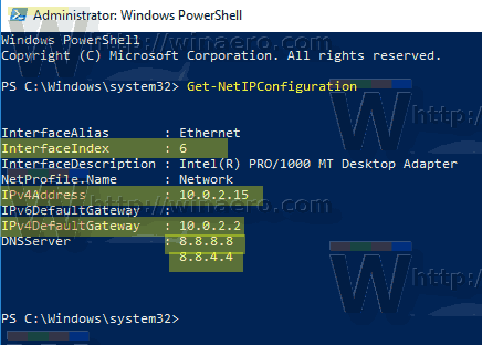 How to Set Static IP Address in Windows 10