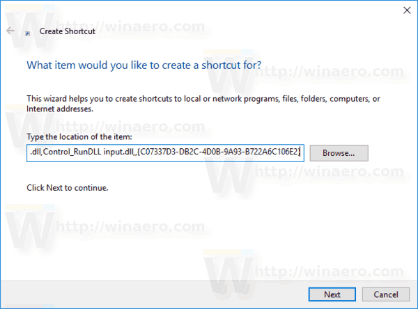 Windows 10 Text Services Shortcut Img1