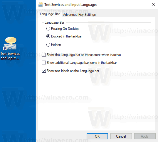Windows 10 Text Services Shortcut Img4