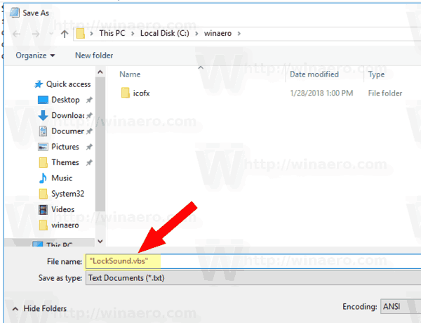 Windows 10 Save Lock Sound Script