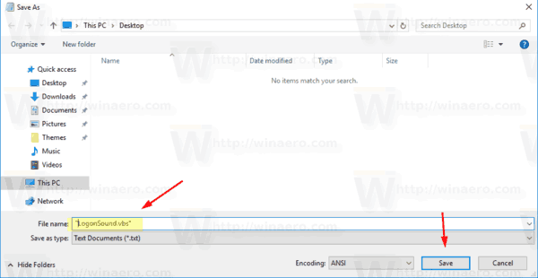 Windows 10 Save Script