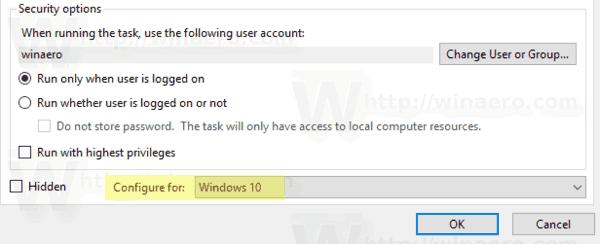 Windows 10 Task Options 3