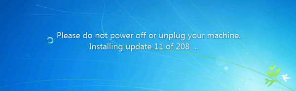Windows 7 Windows Update Logo Banner