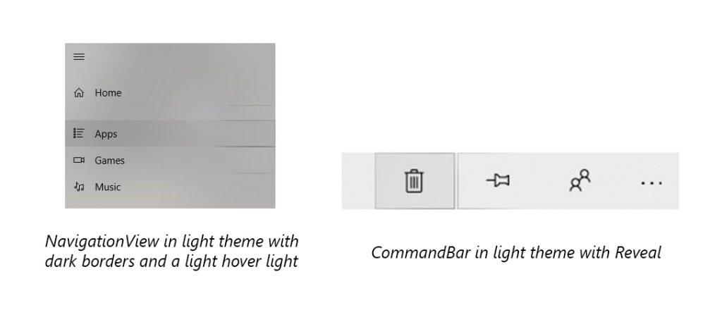 Reveal in light theme now has dark borders.