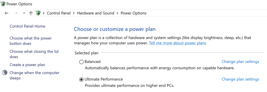 Ultimate Performance Power