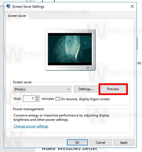 Windows 10 Preview Photos Saver