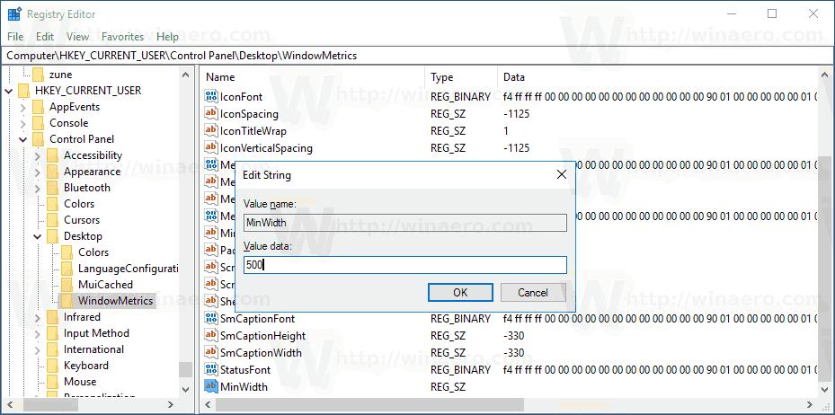 Windows 10 Change Taskbar Button Width