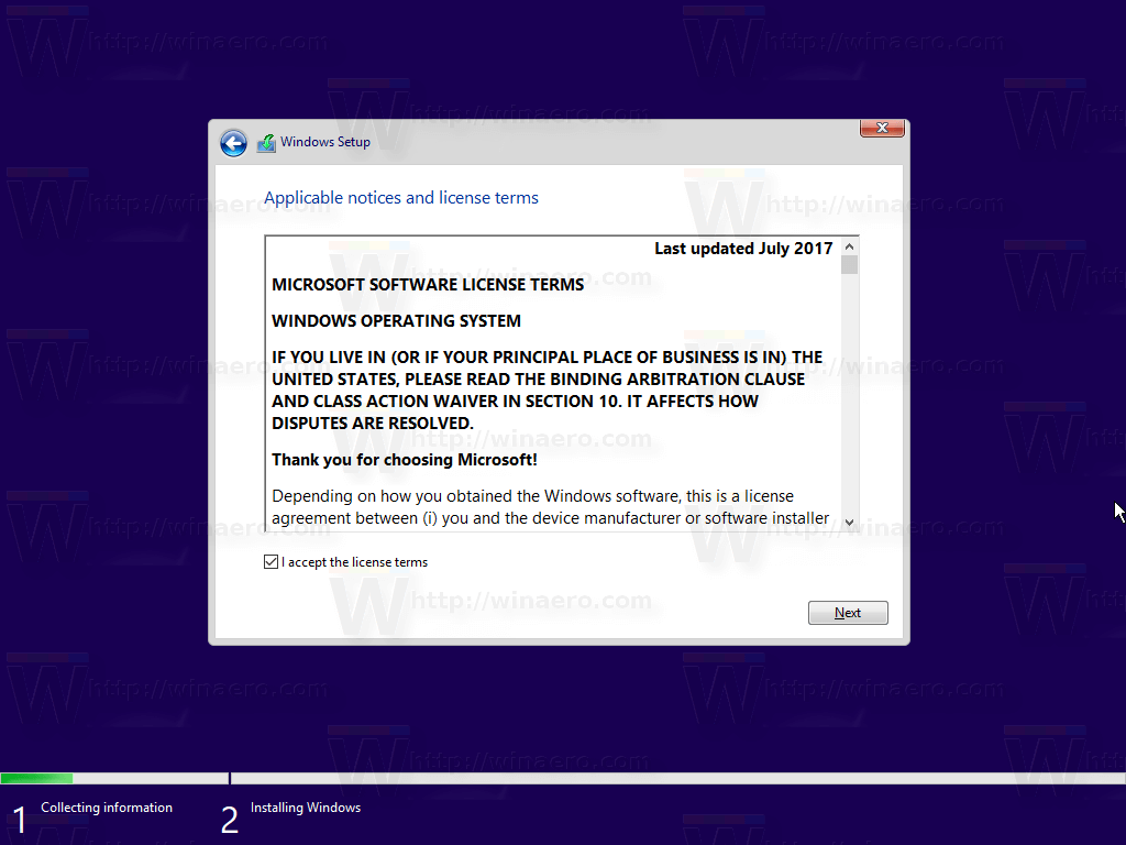 Windows 10 Clean Install 5