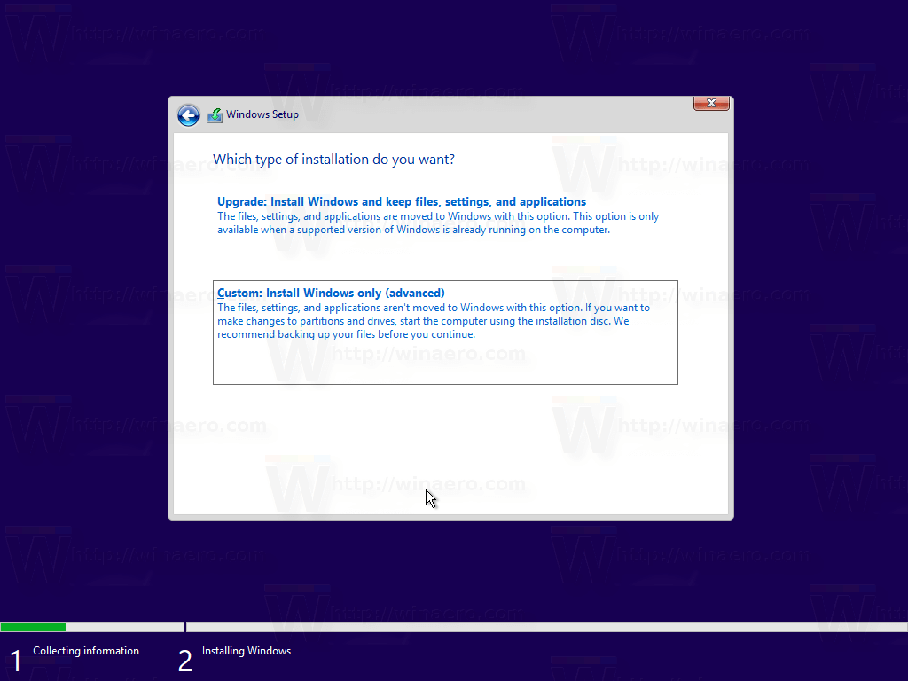 how to upgrade to windows 10 clean install