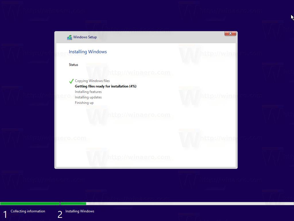 Windows 10 Clean Install 8