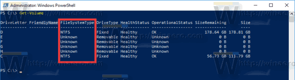 Powershell Find File System Windows 10