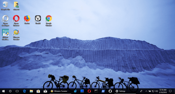 bicycle ride theme for windows 10  8 and 7