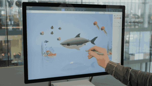 Paint 3D View Editing