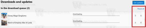 Store App Update Controls