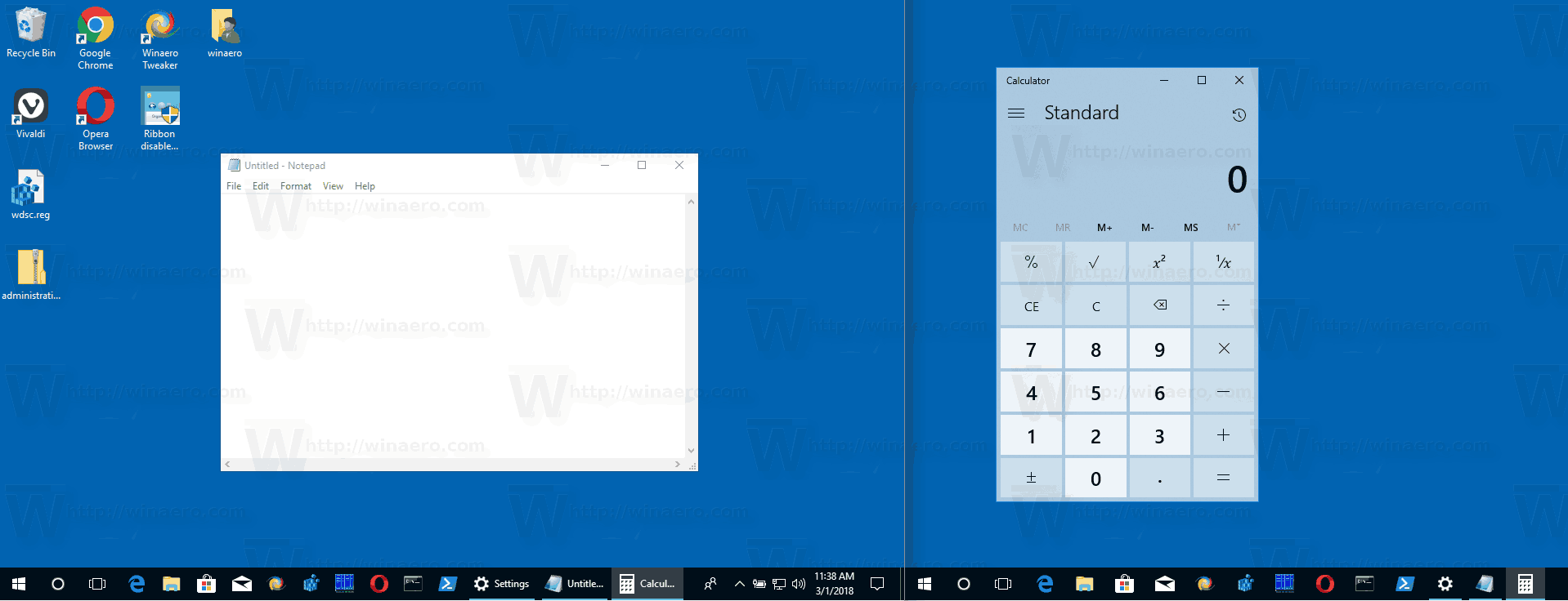 Taskbar On Multiple Displays In Windows 10