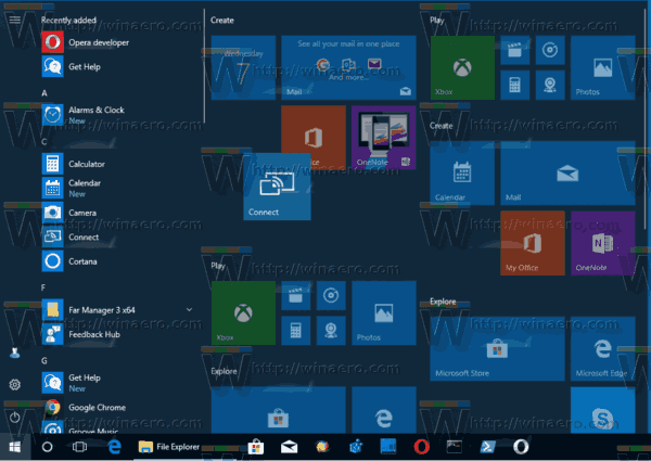 Windows 10 Pin To Start With Drag And Drop In Start Menu