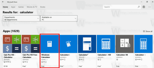 Fix Calculator Is Not Opening In Windows 10
