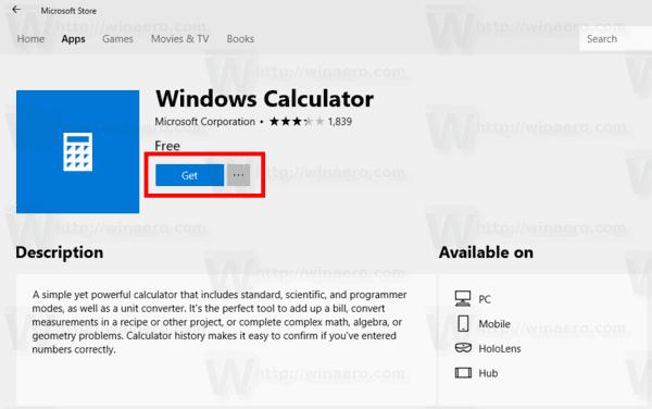 Fix Calculator Is Not Opening In Windows 10