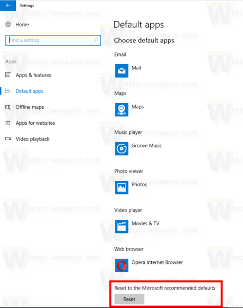 How to Reset File Associations in Windows 10