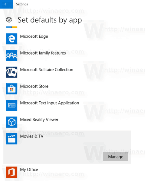how to reset open with to default windows 10