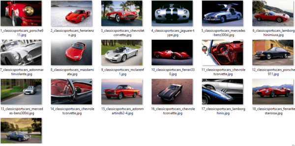 Classic Sports Car Themepack Wallpapers