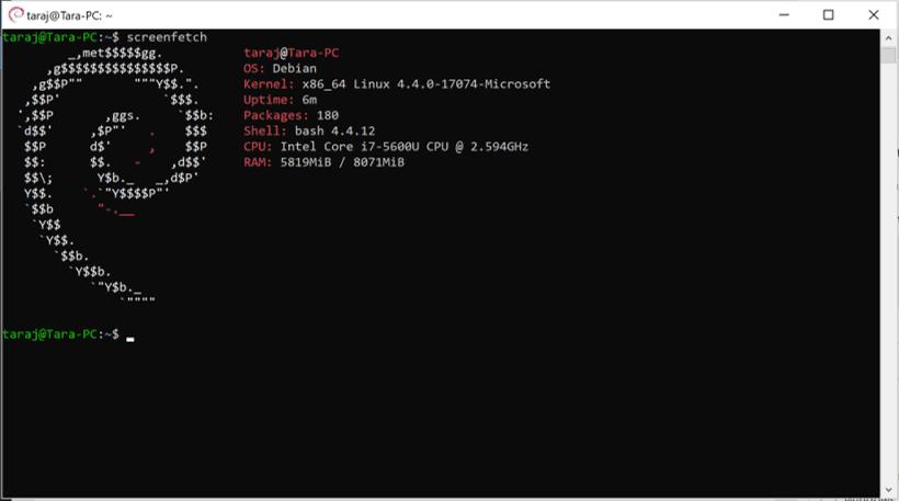 Debian Wsl2