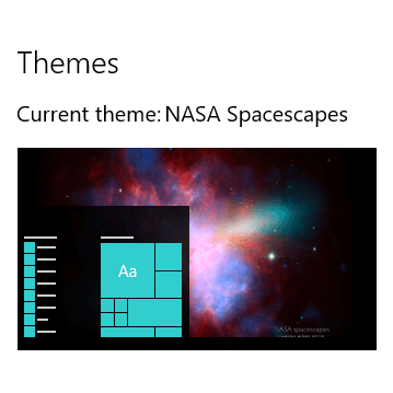 NASA Spacescapes theme for Windows 10, 8 and 7