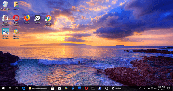 Download Glowing Beaches Theme For Windows 10 8 And 7