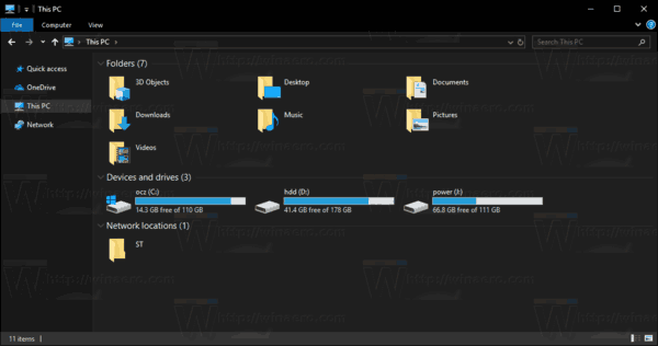 Windows 10 Enable File Explorer Dark Theme