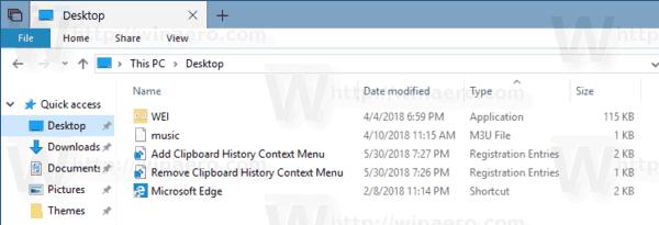 Clipboard History Reg Files