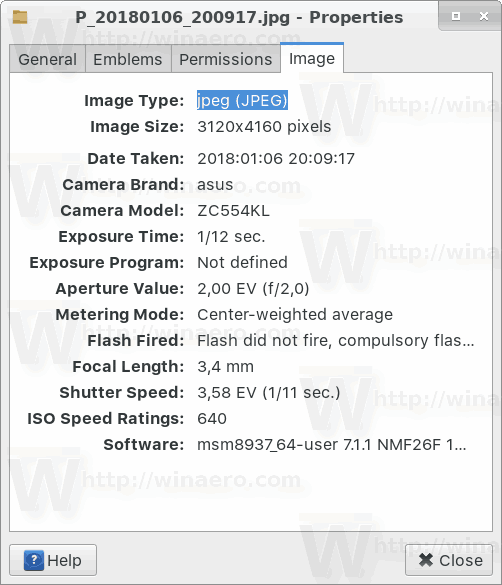 Linux Exif In Thunar