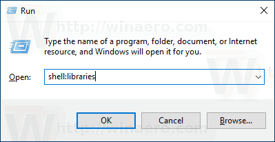 Windows 10 Add Library Folder