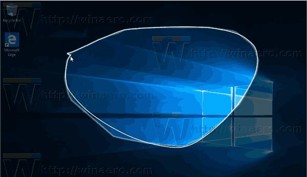 Windows 10 Screen Snip In Action