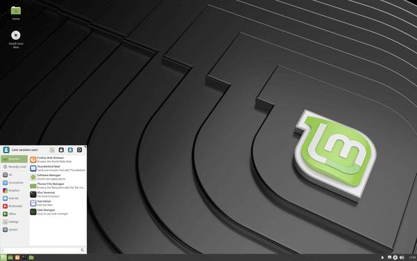 Linux Mint 19 Xfce