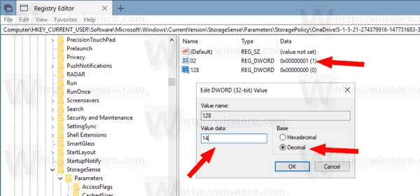Make OneDrive Files On Demand Online Only Tweak 2