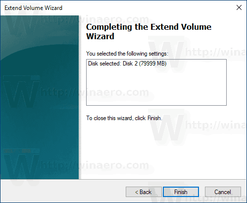 Windows 10 Extend Partition Wizard 3