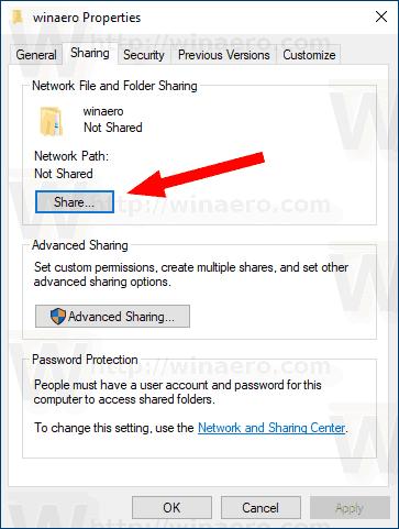 Windows 10 Share A Folder Give Access To 6