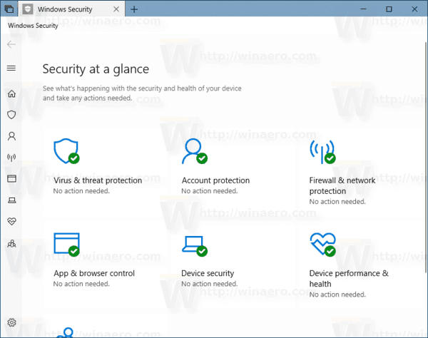 Windows Security Windows 10