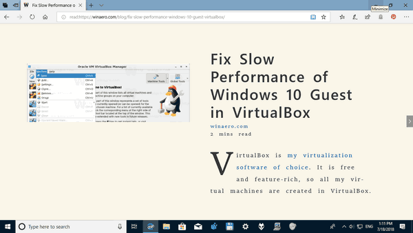 Microsoft Edge Wider Text Spacing