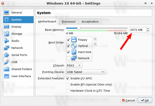 Fix Slow Performance of Windows 10 Guest in VirtualBox