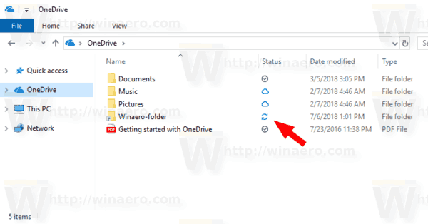 Windows 10 OneDrive Added Directory Junction