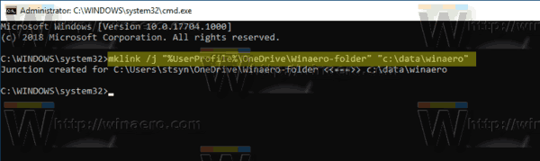 Windows 10 OneDrive Sync Any Folder