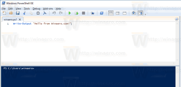Windows 10 PowerShell File Contents