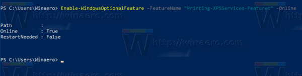 Windows 10 Powershell Optional Features Add Feature