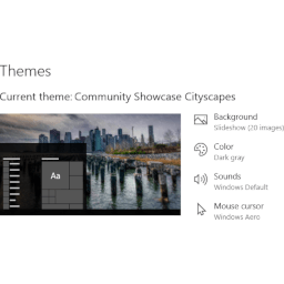 Cityscapes Theme for Windows 10, Windows 8 and Windows 7