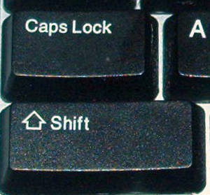 Keyboard Caps Lock
