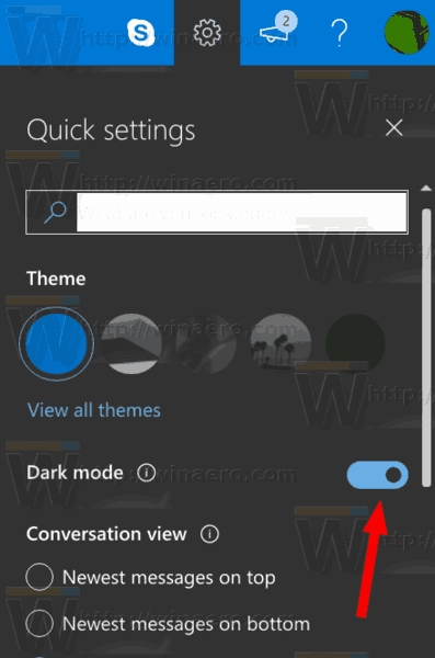 Outlook Com Enable Dark Mode