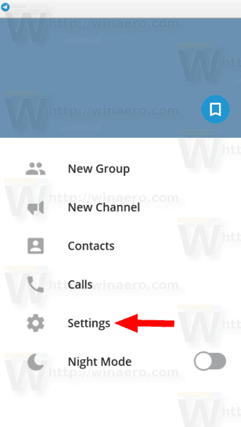 Export Chat History To a File in Telegram Desktop