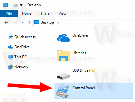 Windows 10 Change Control Panel Icon 2
